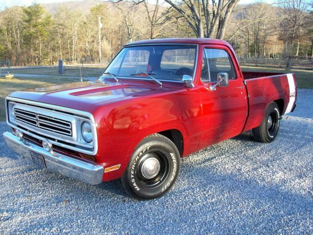 Looking For 1972 1980 Dodge D Series Stepside Truck Classic Cars