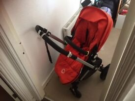 Good condition orange and black bugaboo chameleon