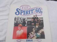 Vinyl LP The Spirit Of The 60's The Beat Go On 1964 Various Artists Time Life TL 532/08 1990