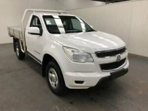 2016 Holden Colorado RG MY16 LS Summit White Manual CAB CHASSIS SINGLE CAB Moonah Glenorchy Area Preview