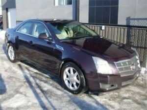 2009 Cadillac CTS 4 AWD HIVER AA-1 + GARANTIE 3 ANS incluse