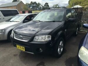 2006 Ford Territory SY Ghia (4x4) Black 6 Speed Auto Seq Sportshift Wagon Campbelltown Campbelltown Area Preview