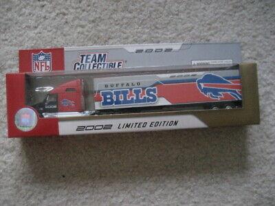 2002 BUFFALO BILLS Limited Edition NFL Licensed Fleer Die Cast SEMI TRUCK 1/80 2002 Buffalo Bills