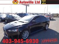 2011 Mitsubishi Lancer Ralliart  AWD $ 20488 EVERYONE APPROVED