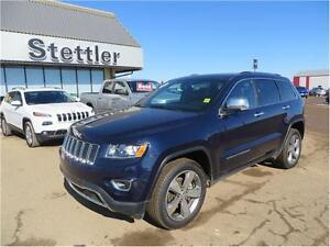 2015 Jeep Grand Cherokee Limited 4X4 HEATED LEATHER SEATS!