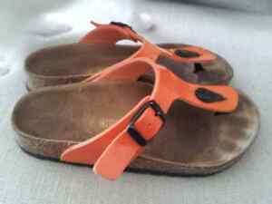 Girls Birkenstock Sandals Size 12