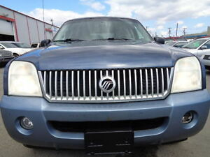 2002 FORD Mercury Mountaineer-SUNROOF-HEATED LEATHER-AWD-7PASS