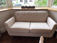 Matching Sofa, Chair and Footstool