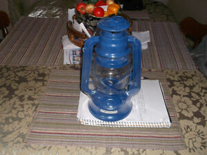 Kerosene Lamps Large 11inches Two New