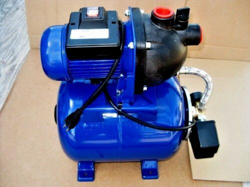 Foster 3/4hp Shallow well Water Pressure Pump with Tank!  Cottage, Cabin, Farm!