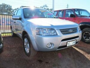 2006 Ford Territory SY Ghia AWD Silver 6 Speed Sports Automatic Wagon Minchinbury Blacktown Area Preview