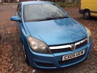 2005 Vauxhall Astra 1.6.low milage. HPI clear. going cheap £1600!