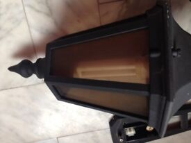 Outside Exterior Light With Low Voltage Bulb Included