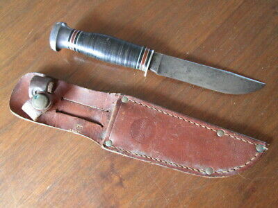 Vintage Remington RH51 Hunting Knife & Original Sheath