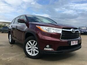 2015 Toyota Kluger GSU50R GX 2WD Red 6 Speed Sports Automatic Wagon Garbutt Townsville City Preview