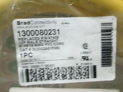 Woodhead 1300080231 Cable New In Box