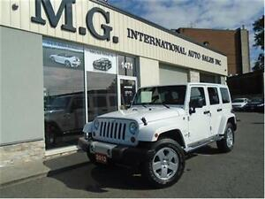 2012 Jeep Wrangler Unlimited Sahara w/Leather