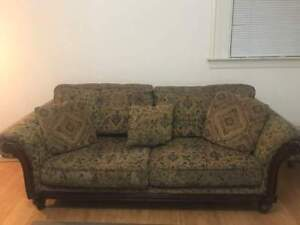 Couch and  matching love seat.
