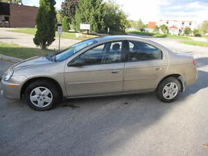 2003 Dodge Neon SX 2.0 LOW, LOW, LOW KM'S, CERT & ETESTED