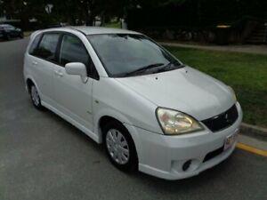 2004 Suzuki Liana GS White Pearl 5 Speed Manual Hatchback