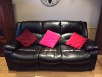 Furniture for sale incl. 3 & 2 seater sofas, TV Stand, desk & desk chair, bedside tables, bar stools