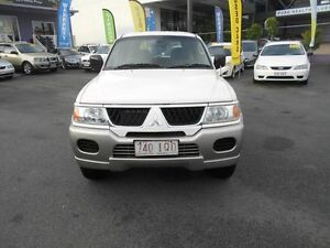 2005 Mitsubishi Challenger PA-MY05 (4x4) White 4 Speed Automatic 4x4 Wagon Greenslopes Brisbane South West Preview