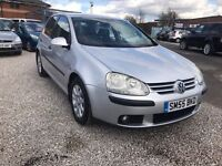 2005 Volkswagen Golf 1.9 TDI SE 5dr FSH + 1 PREVIOUS OWNER