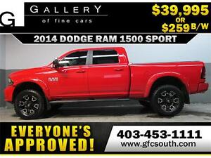2014 RAM SPORT LIFTED *EVERYONE APPROVED* $0 DOWN $259/BW!
