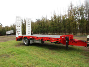 TAG TRAILER (NEW) SINGLE AXLE WITH HYDRAULIC RAMPS Pickering Brook Kalamunda Area Preview