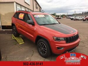 2017 Jeep Grand Cherokee Trailhawk 4X4 LOADED 15% OFF MSRP!!!!