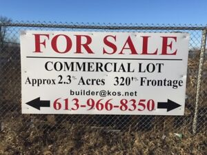 Commercial Lot For Sale in Prime Location