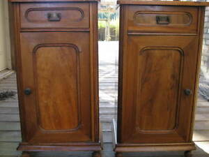 ANTIQUE  VICTORIAN  NIGHTSTANDS