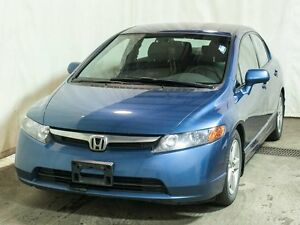 2008 Honda Civic LX Sedan Manual w/ Winter Tire Package, Low KMs