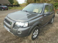 Land Rover Freelander 2.0 TD4 S ADVENTURER WAGON (grey) 2006