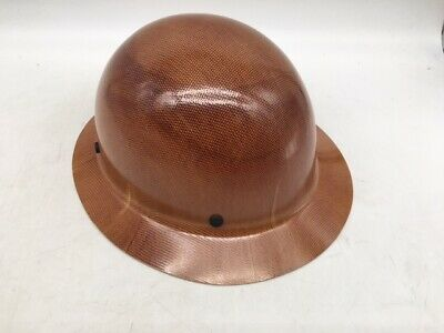 Msa Natural Safety 475407 Brown Skullgard Hard Hat Without Fas Trac Suspension
