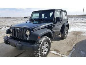 2014 Jeep Wrangler Sport with BF Goodrich AT KO 2 upgrade!!!
