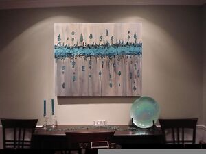 CONTEMPORARY Original acrylic paintings by Diane Soward Cambridge Kitchener Area image 3