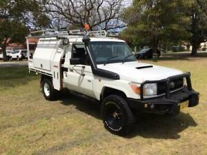 10/2012 TOYOTA LANDCRUISER DV8-CYL 4.5LT DSL/TURBO 5SPD T/TOP TOOL-BOX Bayswater Bayswater Area Preview