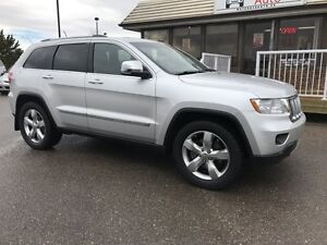 2011 Jeep Grand Cherokee Overland, ONE OWNER LOCAL TRADE