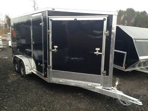 7'x19' Drive-On/Drive-Off Snowmobile Trailer
