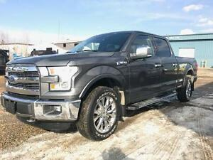 2016 Ford F-150 Lariat 4x4 Flex Fuel ~ Loaded Finance @$320 B/W