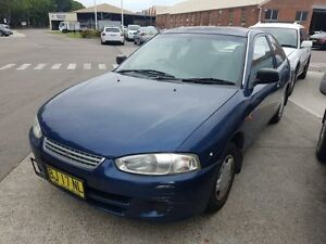 2003 Mitsubishi Mirage CE Blue 5 Speed Manual Hatchback Georgetown Newcastle Area Preview