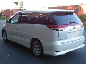 2006 Toyota Estima AERAS Premium White 5 Speed Tiptronic Wagon