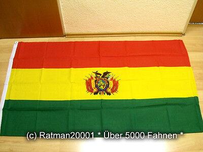 Fahnen Flagge Bolivien - 90 x 150 cm
