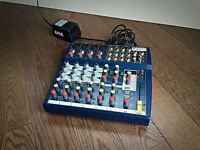 Soundcraft 124FX Compact 4-8 Channel Mixer w/ Effects!