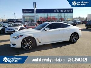 2017 Infiniti Q60 3.0t/PREMIUM/NAV/DRIVERS ASSIST/LEATHER/SUNROO