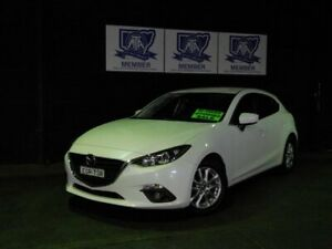 2016 Mazda 3 BM5478 Maxx SKYACTIV-Drive Snowflake White Pearl 6 Speed Sports Automatic Hatchback Albion Park Rail Shellharbour Area Preview
