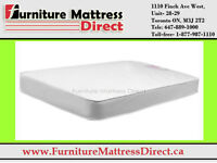 ......█CLEARANCE█...Smooth top Canadian-made Mattress- all sizes