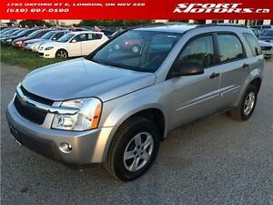 2005 Chevrolet Equinox LS **69 KM** PWR Options! A/C! New Brakes