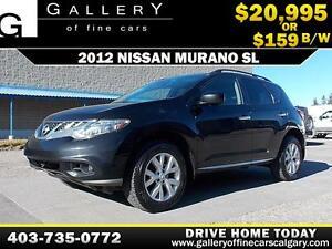 2012 Nissan Murano SL AWD $159 bi-weekly APPLY NOW DRIVE NOW